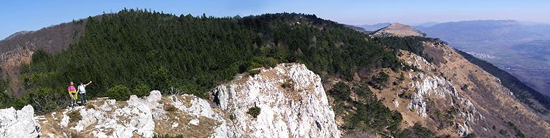 Il ciglione carsico meridionale della Selva di Tarnova