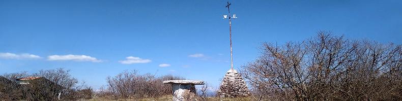 La cima del monte Trstelj