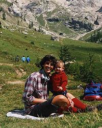 Isa e Mattia al Contrin