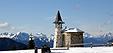 La chiesetta degli alpini a casera Pizzul