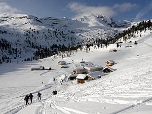 Salita all'Alpe di Fanes Piccola