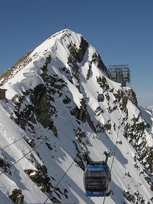 Gefrorene Wand Spitzen 3.288 m