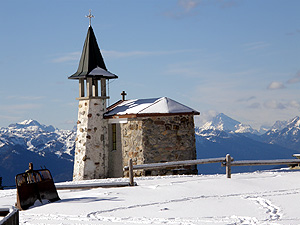 """Chiesetta degli alpini Batt """"Susa"""" caduti durante la Grande Guerra"""